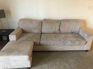 Beige couch for Sale in Manassas, VA