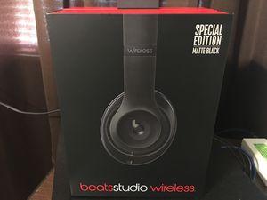 Beats Studio Wireless | Matte Black Edition for Sale in Downey, CA