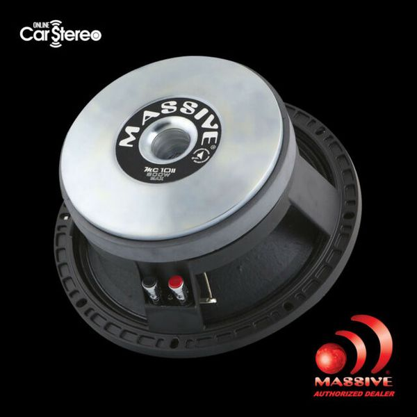 Speakert Massive Audio Pro audio Sz 10
