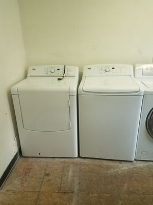 Big capacity top load washer and dryer for Sale in Houston, TX