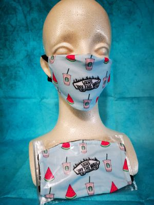 Kids Face mask (Starbucks vans): Hand made mask, reversible, reusable, washer and dryer safe. #girls clothes #halloween #MAC Makeup for Sale in Long Beach, CA