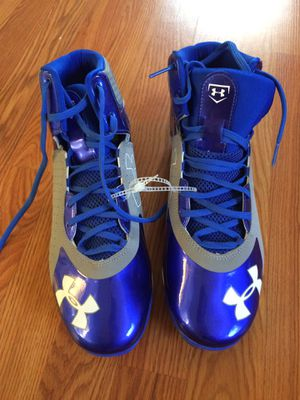 Underarmour clutchfit size 12 baseball cleats for Sale in Zephyrhills, FL