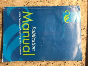 Publication Manual of the APA for Sale in Rockville, MD