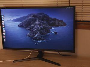 "Samsung 32"" - UJ59 Series U32J590UQN 32"" LED 4K UHD FreeSync Monitor for Sale in Chicago, IL"