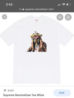 Supreme Rammellzee white t shirt for Sale in Seattle, WA