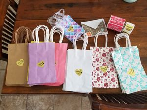 Gift thank you bags for Sale in Lake Elsinore, CA