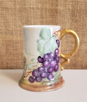 Hand Painted Antique R C Porcelain Mug for Sale in Burien, WA