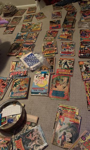 Very old comic books for Sale in Hyattsville, MD
