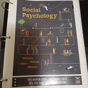 Social Psychology 5 Edition! for Sale in Stanton, CA