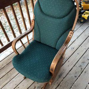 Wood Rocker Rocking Chair for Sale in Sandy, UT