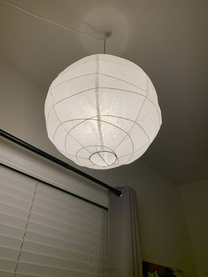 White pendant hanging light shade for Sale in Anaheim, CA