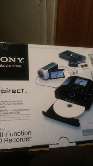Sony dvd recorder for Sale in Gahanna, OH