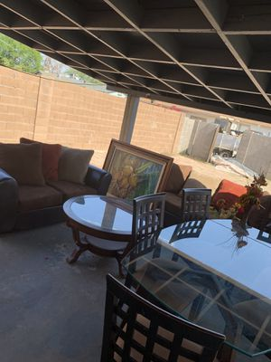 Living and dining room set for Sale in Scottsdale, AZ