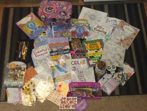 Adult / kids coloring books / colored pencils for Sale in Spokane, WA