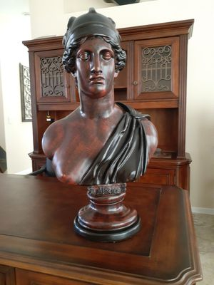 Goddess Athena bust, very heavy for Sale in NEW PRT RCHY, FL