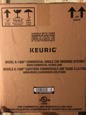 Keurig k1500 commercial brewer for Sale in Boston, MA