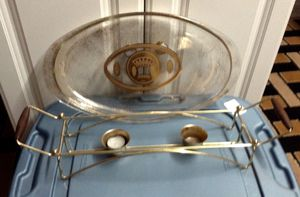 Vintage Pyrex Bakeware with candle warmer 3 qt. for Sale in Cape Coral, FL