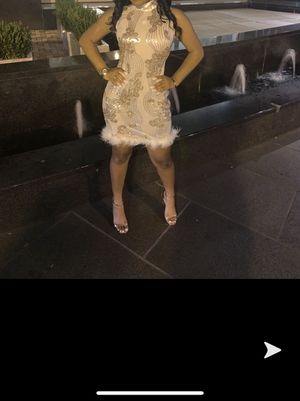 White Cocktail Dress for Sale in Norcross, GA