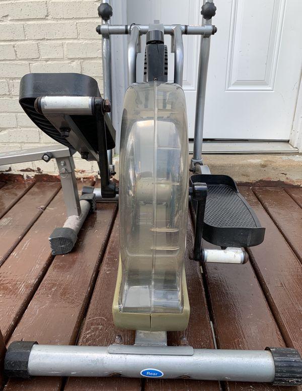 Orbitrek elliptical machine trainer exercise bike