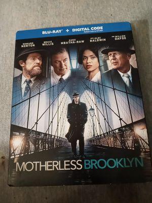 Motherless Brooklyn (Bluray+Digital Code+ SlipCover) New Sealed Alec Baldwin Bruce Willis for Sale in La Porte, IN