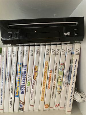 Wii console & games for Sale in Highland, CA