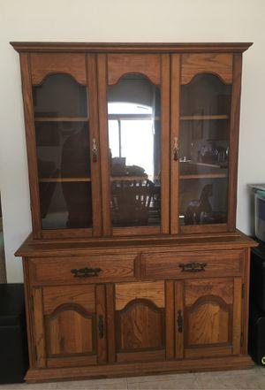 Oak Hutch for Sale in Monroe, WA