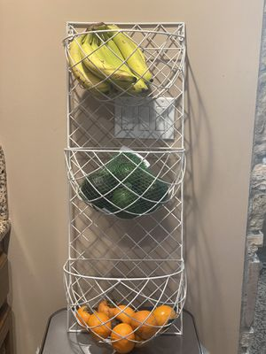 3 tier wall mounted storage rack for Sale in Elmont, NY
