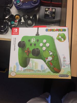 Super Yoshi Wired Controller NINTENDO SWITCH for Sale in Carmichael, CA