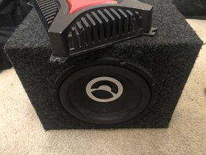 Bazooka Sub And Sony Amp!!! for Sale in Fort Washington, MD