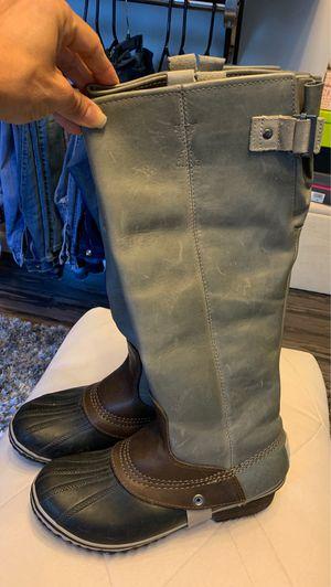 Sorel leather rain boots for Sale in Dallas, TX