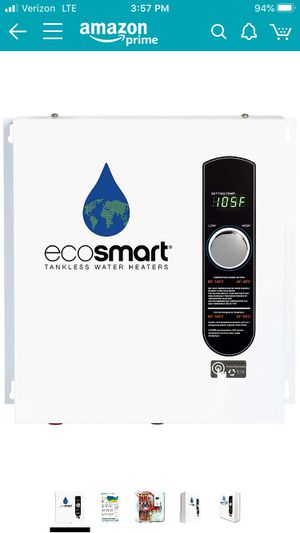 Ecosmart ECO 24 24 KW at 240-Volt Electric Tankless Water Heater for Sale in Bloomington, CA