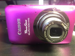 Canon PowerShot ELPH 100 HS for Sale in New Haven, CT