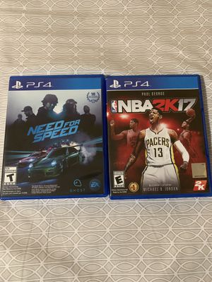 Juegos PS4 for Sale in Germantown, MD