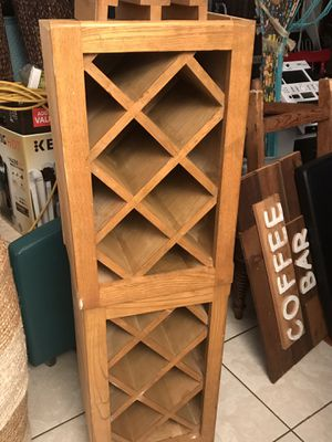 """Storage Shelves Wine Rack15.5""""x12.5""""D X27"""" H $39 for Sale in Euless, TX"""