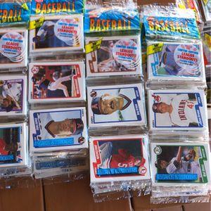 1990 Fleer Baseball Rack Packs (36) Packs Total for Sale in San Diego, CA