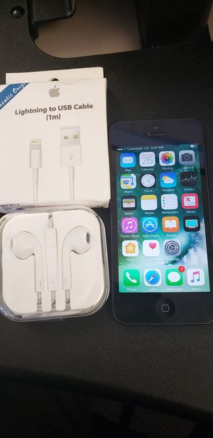 iPhone 5 factor unlock for Sale in Woburn, MA