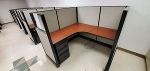 Hermanmiller cubicles, office cubicles, office furniture, lateral file, private office, desk, chairs for Sale in Ontario, CA