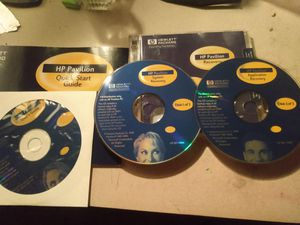 Hewlett Packard HP Pavilion System Recovery & User's Guide CD ( 3 discs) for Sale in Denver, CO