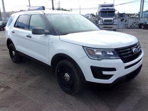 2018 Ford Explorer Interceptor Police 4WD SUV Sport Utility for Sale in Miami, FL