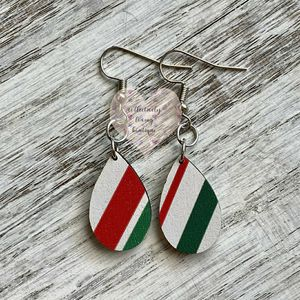 Candy Cane Earring Drops for Sale in Rancho Santa Margarita, CA