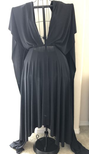 """Chiffon shawl prom dress """"one size"""" fit to all sizes for Sale in Oceanside, CA"""
