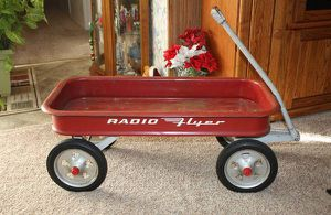 1960 Large Radio Flyer Red Wagon for Sale in Garland, TX
