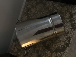 Silver Ice Bucket/wine chiller for Sale in Rockville, MD