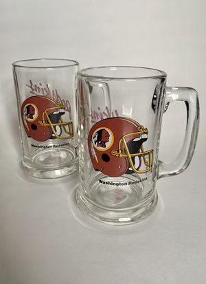 Vintage Washington Redskins NFL Beer Mugs for Sale in Greensboro, NC