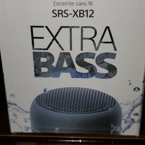 Sony Wireless Speaker Srs-xb12 Extra Bass for Sale in Meriden, CT