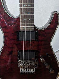 Schecter Hellraiser C-1 FR-S Black Cherry 6 String Guitar for Sale in Los Angeles,  CA