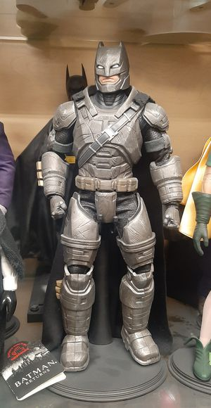 Batman Armored Custom Action Figure 1/6 Scale is not hot toys for Sale in Irwindale, CA