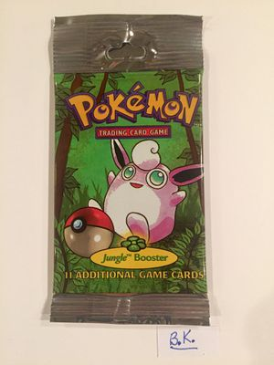 Pokemon SEALED Jungle Booster Pack for Sale in Riverside, CA