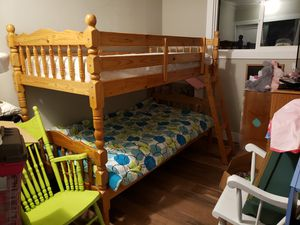 Twin Bunk Bed - Nearly New for Sale in Aberdeen, WA
