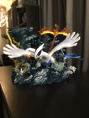 SY Studio Resin Pokemon Lugia Zapdos Moltres Articuno Limited Statues for Sale in South Gate, CA
